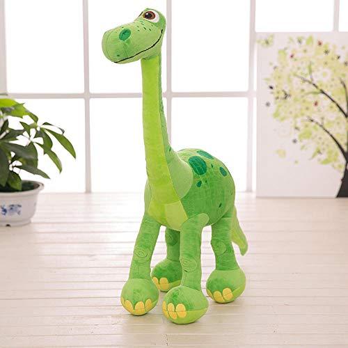 JMKHY Dinosaur Plush Toys Cartoon Tyrannosaurus Cute Stuffed Toy Dolls for Kids Children Boys Birthday Gift-50cm_Green