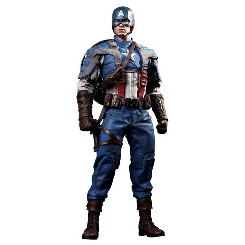 Hot Toys Captain America The First Avenger Movie Masterpiece 1/6 Scale Collectible Figure Captain America by Hot Toys