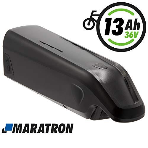 Maratron E-Bike Ersatz-Akku 36V 13Ah für E-Bikes mit AEG-Antrieb von Prophete, Zündapp, REX u.a.