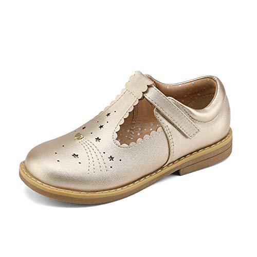 DREAM PAIRS Mary Jane Bailarina Zapatos de Vestir Planos Correa para Niña