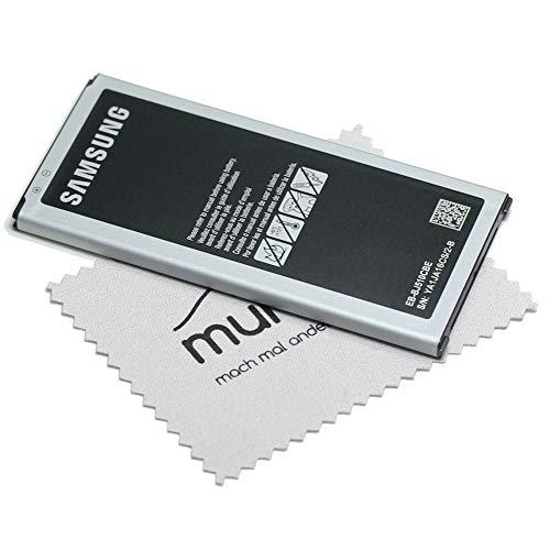 Batteria originale per Samsung EB-BJ510 per Samsung Galaxy J5 2016 (J510F) con panno per la pulizia dello schermo mungoo