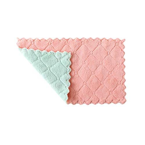 Absorberende Afwasdoek, Huishoudelijk Dik Afvegen Tafelkleed, Handdoek Keuken Lint-vrije Schoonmaakdoek, 10 Stuks