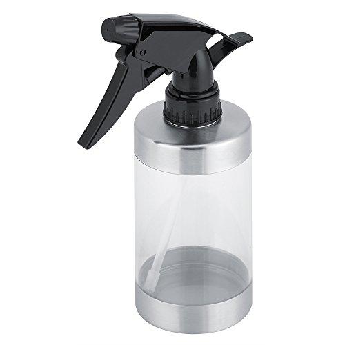 Flacon Pulvérisateur Vide en Acier Inoxydable Vaporisateur Arrosoir pour Plantes Pot pour Huiles Essentielles