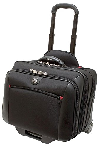 Case, PotomAC Roller 2Pc Travel, Wenger, Carrying Case Material PET (Polyester), Case Colour Black, External Depth - Imperial 9.84', External Depth - Metric 250mm, External Height - Imperial 15.35', E