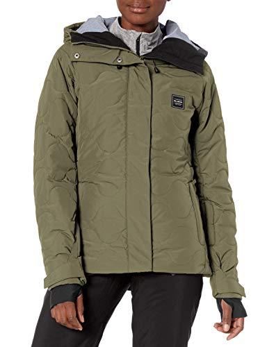 BILLABONG Damen Bliss Snowboard Jacket Isolierte Jacke, olivgrün, Large