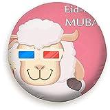 Cubierta del Neumático Festival Sacrificio Eid Al Adha Muselina Tradicional...
