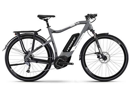 HAIBIKE Sduro Trekking 3.0 Pedelec E-Bike Fahrrad grau/weiß 2019: Größe: XL