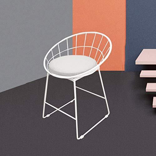 Chair Tabouret De Bar Nordique En Fer Forgé Tabouret Haut Moderne Tabouret De Bar Américain A+ (taille : 65cm)