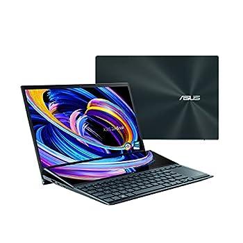 "ASUS ZenBook Pro Duo UX581 Laptop 15.6"" 4K UHD NanoEdge Touch Display Intel Core i9-10980HK 32GB RAM 1TB PCIe SSD GeForce RTX 2060 ScreenPad Plus Windows 10 Pro Celestial Blue UX581LV-XS94T"