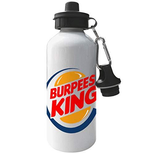Cloud City 7 Burpees King Burger King Aluminium Sports Water Bottle