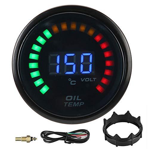 EBTOOLS Medidor de temperatura de aceite, 52 mm Medidor de t