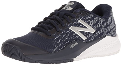 New Balance Women's 996 V3 Hard Court Tennis Shoe, Pigment/White, 9.5 M US