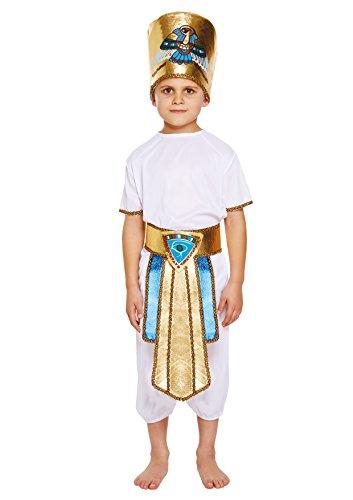 HENBRANDT Costume da Bambino Egiziano per Bambini...