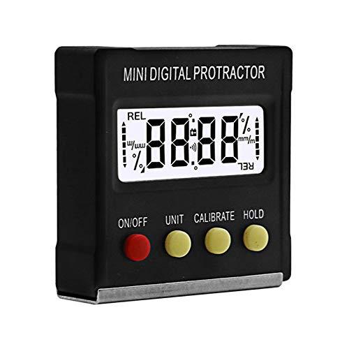 TenYua 360 Grad Mini Digital Winkelmesser Neigungsmesser Elektronische Wasserwaage Box Magnetische Basis Messwerkzeuge
