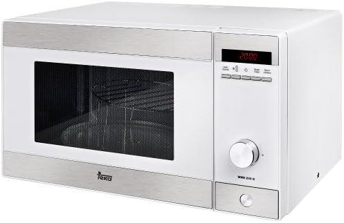 Teka MWE 230 G Microondas con grill, 1250 W, Otro, Blanco