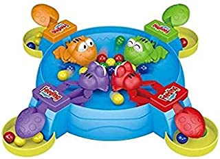 Beauenty Hungry Frogs Family Board Game – Intense Game of Quick Reflexes – Classic Board Games Fun,4 Player Frog Toy Eat B...