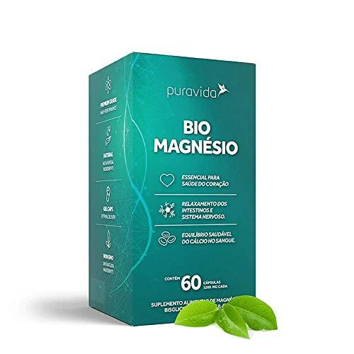 Bio Magnésio 60 Cápsulas Puravida