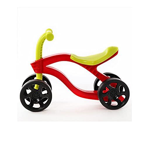NXYJD Scooter de Empuje para niños de 4 Ruedas, Bicicleta de Equilibrio, Scooter para niños, Bicicleta para niños, Juguetes para Montar al Aire Libre, Coches, Resistentes al Desgaste