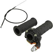 JenNiFer Twist Acelerador Acelerador Grips & Cable para ATV Quad Dirt Pit Bike 90/110/125Cc