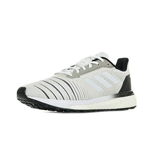 adidas Solar Drive W, Zapatillas de Deporte Mujer, Blanco (Ftwbla/Ftwbla/Negbás 000), 41 1/3 EU