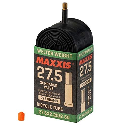 Maxxis Welter Weight 650b 27.5' Schrader Bike Inner Tube Puncture Resistant