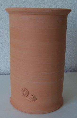 Töpferei Annett Fischer WKÜ1 Weinkühler terracotta handgetöpfert Höhe 21 cm Durchmesser 13 cm Volumen 1,4 l