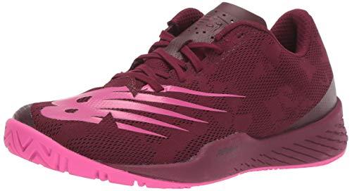 New Balance Women's 896 V3 Hard Court Tennis Shoe, Peony/Vivid Coral, 5.5 W US