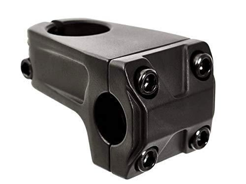 KHE - Attacco manubrio per BMX, 1 1/8', in alluminio 7005, 50 mm, 266 g, P3 44, colore: Nero
