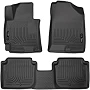 Husky Liners Fits 2014-16 Hyundai Elantra Sedan Weatherbeater Front & 2nd Seat Floor Mats