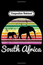 Composition Notebook: South Africa Elephant Safari Gift  Journal/Notebook Blank Lined Ruled 6x9 100 Pages