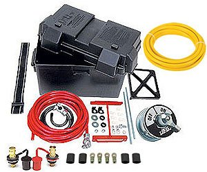 JEGS 10278K Deluxe Automotive/Marine Type Battery Relocation Kit
