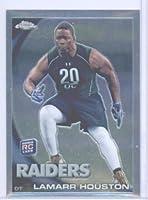2010 Topps Chrome Football Rookie Card #C204 Lamarr Houston Oakland Raiders