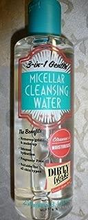 DIRTY WORKS~~3 IN 1 GENTLE~~MICELLAR CLEANSING WATER~~ALL SKIN TYPES 8.4 OZ by Dirty Works by Dirty Works