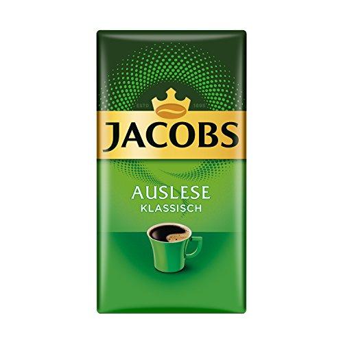 Jacobs Filterkaffee Auslese: Klassisch, 500 g gemahlener Kaffee