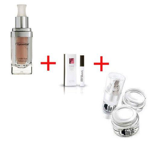 3 Produkte:Eyes und Face Eyesential 20 ml + Lashes - Wimpernverlängerung 3 ml + Eyes und Face The Lift