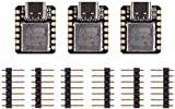 Seeeduino XIAO The Smallest Arduino Microcontroller Based on SAMD21,with Rich Interfaces, 100% Arduino IDE Compatible, desiged for Projects Need Arduino Micro,3 pcs