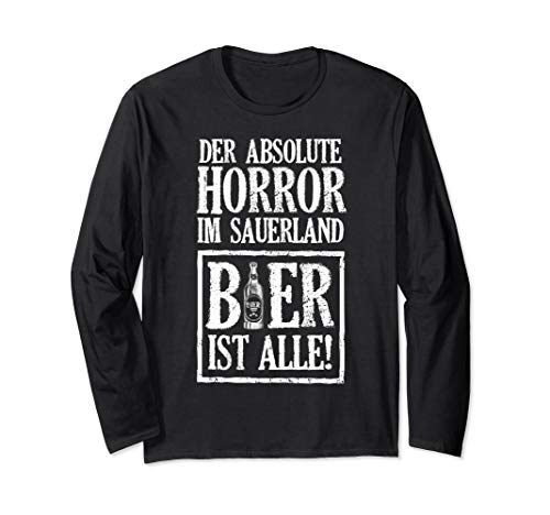 Sauerland-Horror Langarmshirt