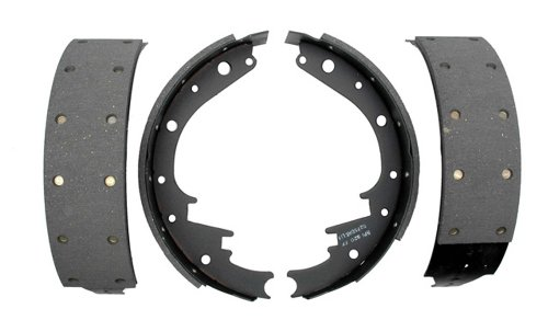 ACDelco 17473R Professional Riveted Rear Drum Brake Shoe Set