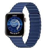 Apple Watch アップルウォッチ バンド 5,4,3,2,1対応 ステンレス ネオジム磁石 マグネット式 ベルト 調整可能
