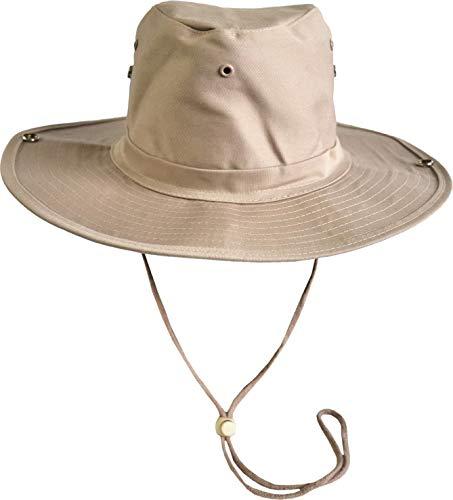 normani Original Australian Outdoor Buschhut Farbe Beige Größe 59