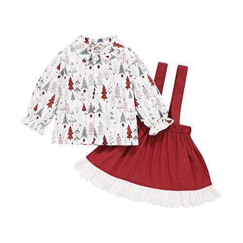 Derclive - Disfraz de árbol de Navidad para bebé y niña, color...