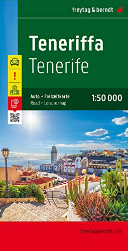 Tenerife, mapa de carreteras. Escala 1:50.000. Freytag & Berndt.: Toeristische wegenkaart 1:50 000: AK 0523 (Auto karte)