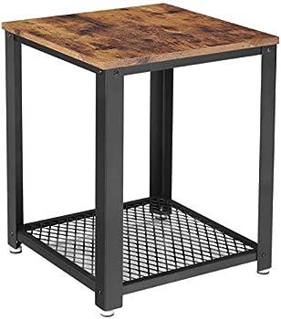 Vasagle Industrial End 2-Tier Table