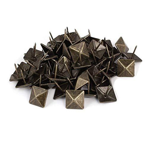 Sydien 19mm/0.75 Inch Dia Square Head Upholstery Tacks/NailsThumb Tack Push Pins 100Pcs
