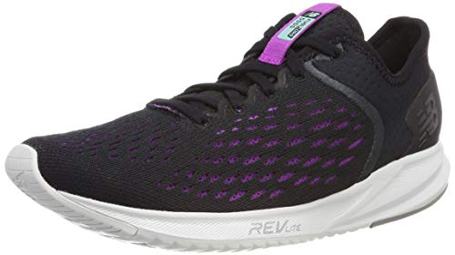 New Balance Damen Fuel Core 5000 d Laufschuhe, Schwarz (Black/Voltage Violet Bv), 40 EU