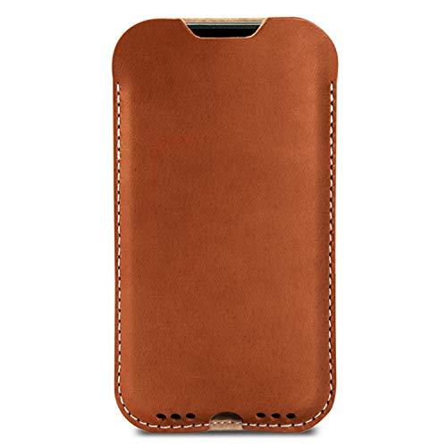 Pack & Smooch Hülle für iPhone 12 Mini (5,4') - Kingston - Pflanzlich gegerbtes...