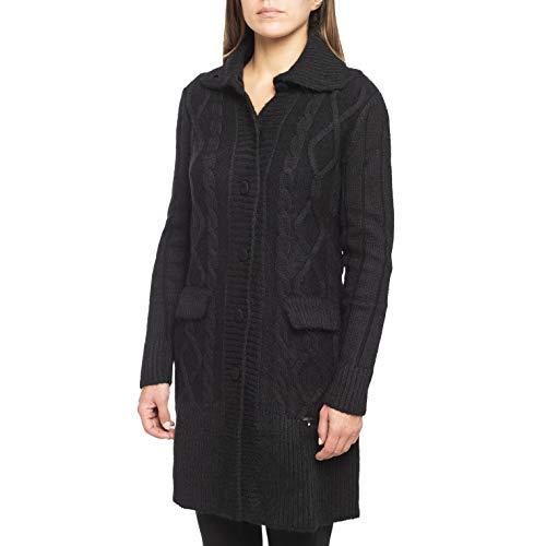 Nero Giardini A468801D Cappotto Da Donna In Maglia - Nero 42 EU