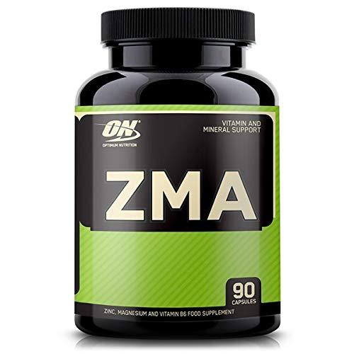 Optimum Nutrition ON ZMA, Vitamines et Minéraux, Zinc, Magnésium et Vitamine B6, Non Aromatisé, 90 Portions, 90 Comprimés