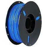 ZSYGFS Impresora 3D Filamento PETG para Impresión 3D Precisión Dimensional +/- 0.02 Mm 1kg 1Spool(Color:Azul)