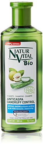 Naturaleza Y Vida Champú Bio Anticaspa - 300 ml, Verde (841